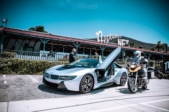 BMW i8 always catches attention. Not all of it good