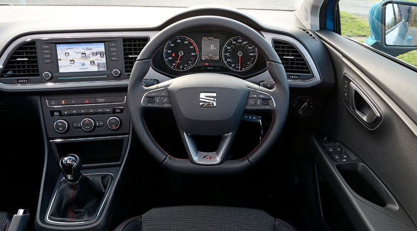 Seat leon 1 4 tsi 2015 long term test review by car magazine - Seat leon interior ...