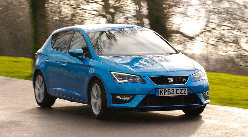 CAR magazine's Seat Leon in its natural habitat: the open road