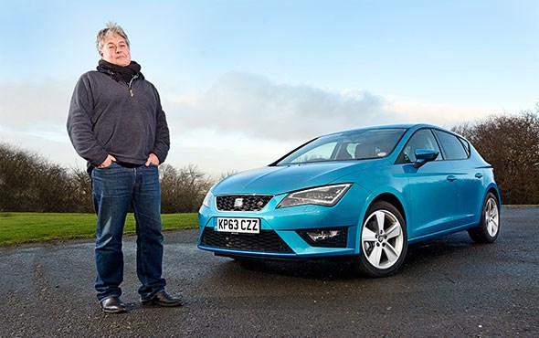 Anthony ffrench-Constant and CAR magazine's Seat Leon hatchback (2014)