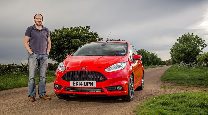 Steve Moody and CAR magazine's Ford Fiesta ST
