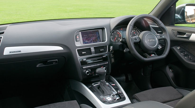 The Cabin Of Today S Mk1 Audi Q5