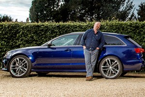 Greg Fountain and CAR's long-term test Audi RS6
