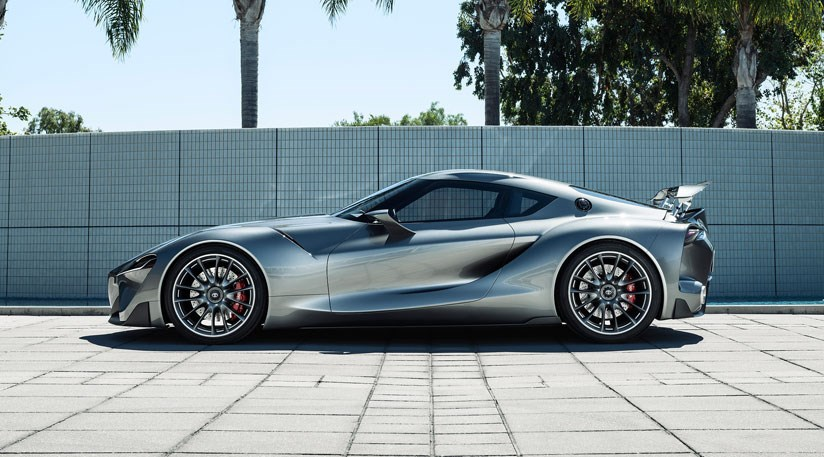 Toyota Ft 1 Evo Toyota Shows Real World Supra Concept