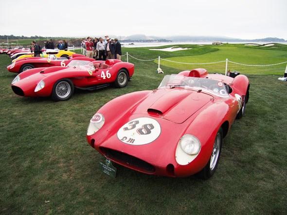 Ferrari red heads aplenty