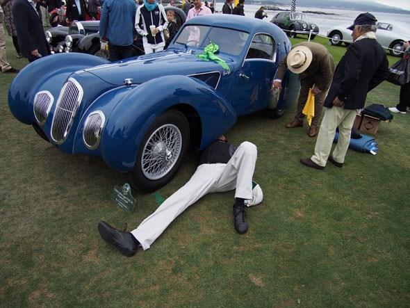 Sir Michael Kadoorie and his 1939 Talbot-Lago