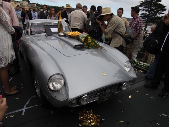 Jon Shirley's winning Ferrari 375MM