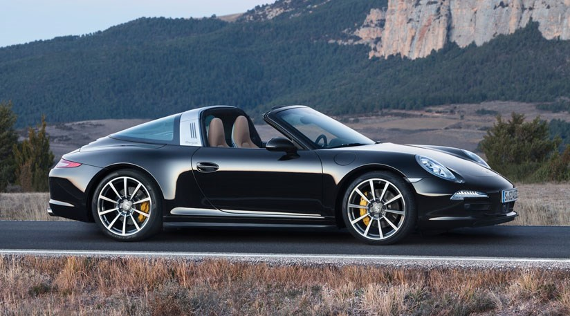 New 2014 Porsche 911 Targa only comes in wide-hipped Carrera 4 ...