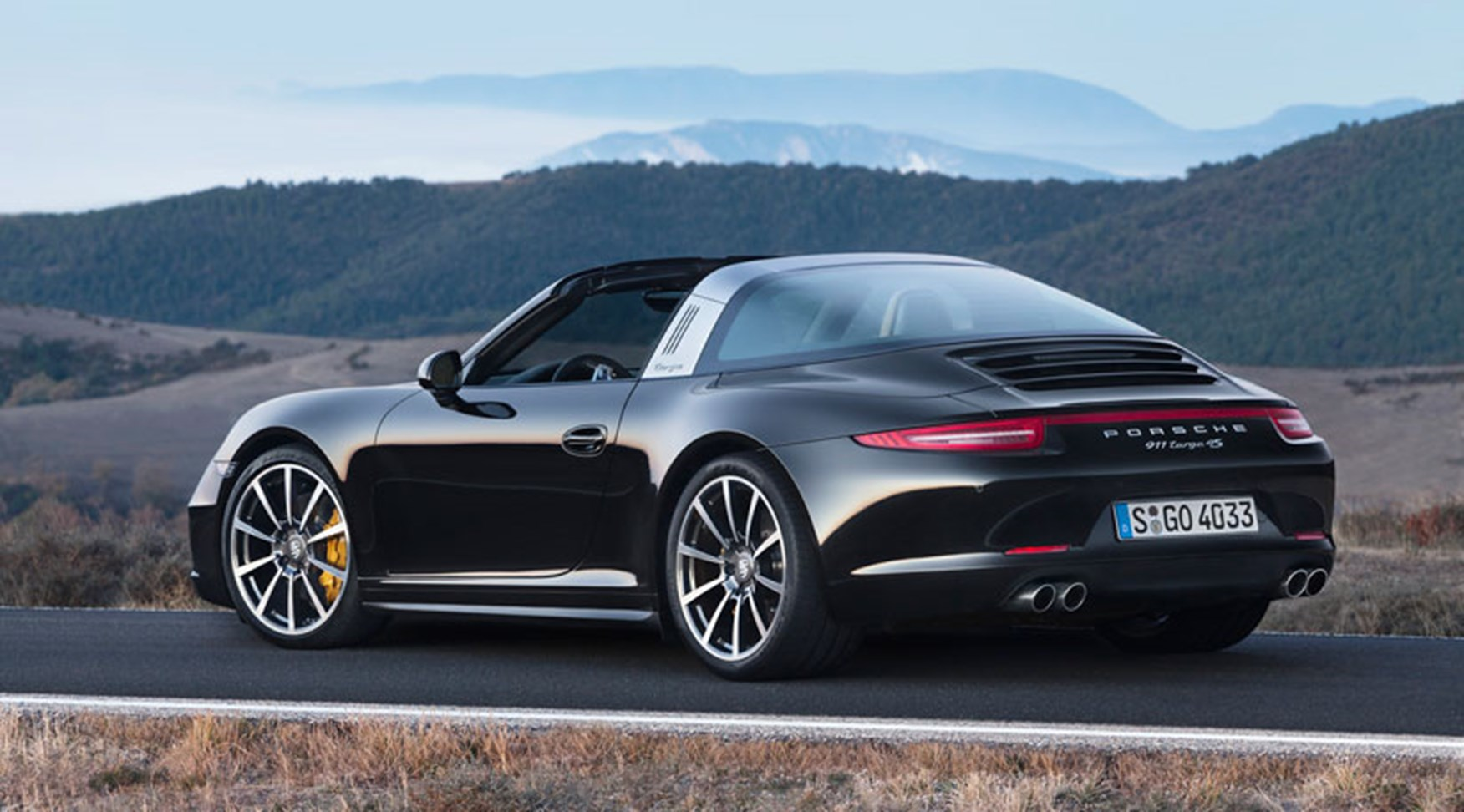 Porsche 911 Targa 4s 2014 Review By Car Magazine