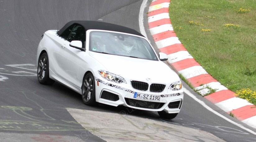 BMW 2 Series Cabriolet At The Nurburgring
