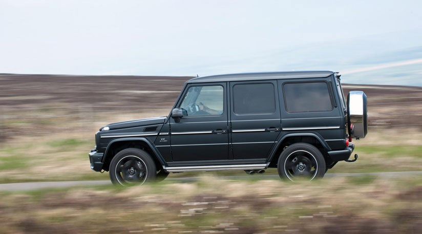 Boxier Than A Set Square The Mercedes Benz G Cl 2016