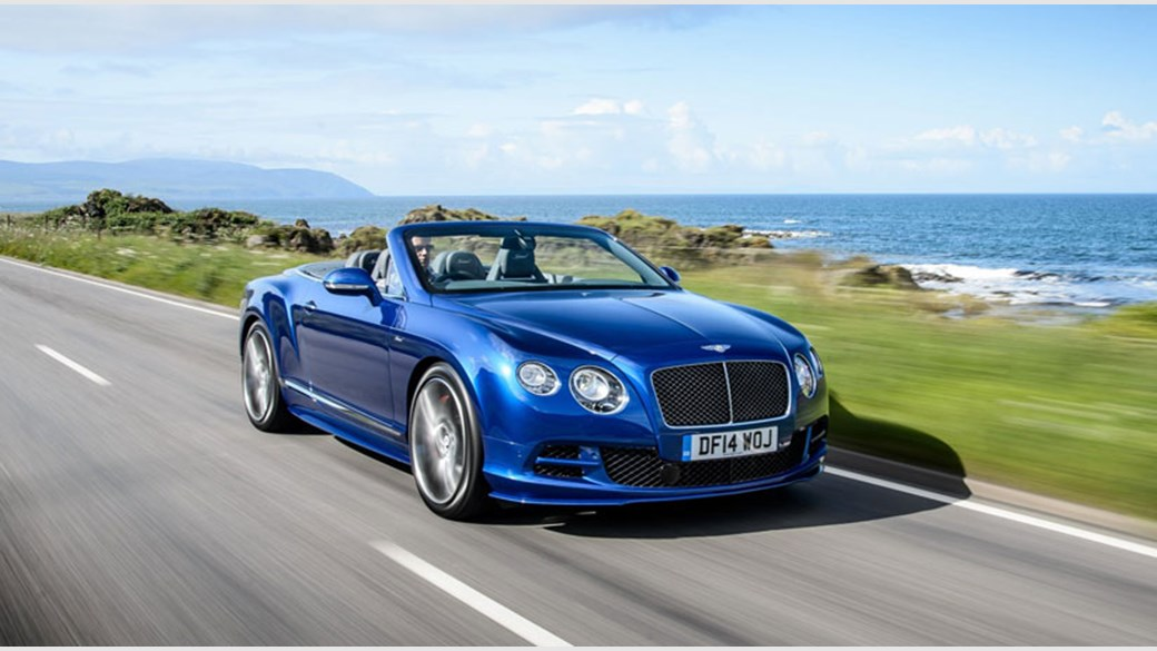 Bentley Continental GT Speed Convertible (2014) review by CAR Magazine