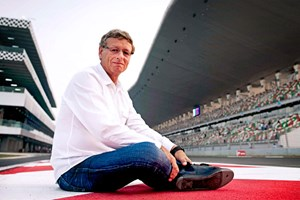 Hermann Tilke, the F1 architect. Shot by Darren Heath