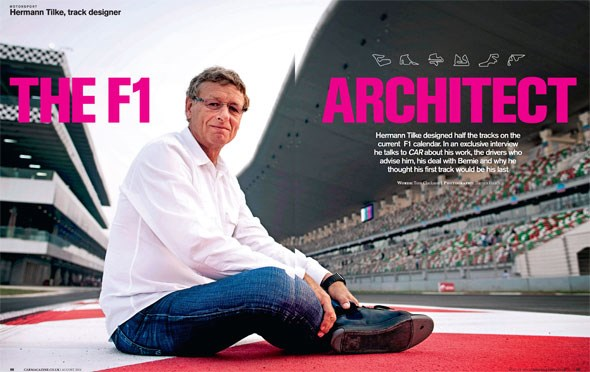 This Hermann Tilke interview originally appeared in the August 2014 issue of CAR magazine