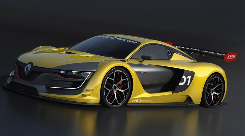 The New Renaultsport R.S 01 Race Car