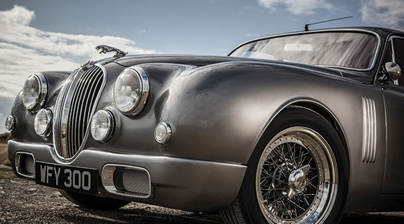 Jaguar Mk2 (2014) by Ian Callum and Classic Motor Cars by