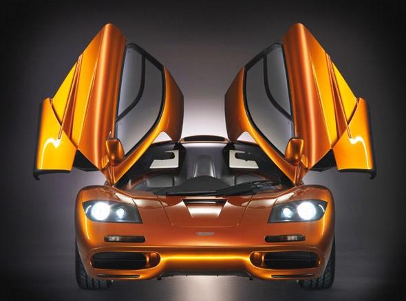 Doors up: the McLaren F1