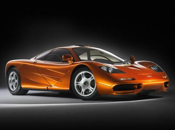 McLaren F1: front three-quarters