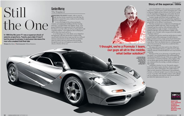 Check out our magazine feature in the September 2014 issue of CAR magazine