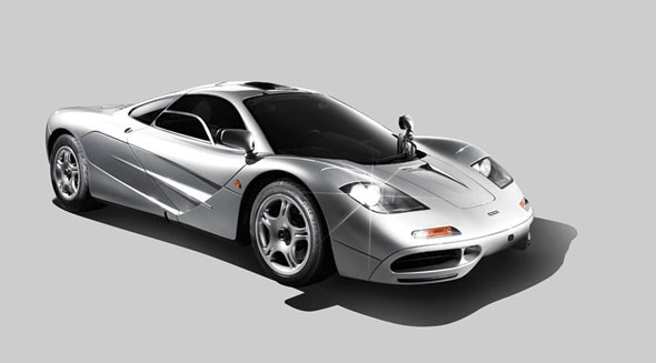 McLaren F1, photographed by Wilson Hennessy