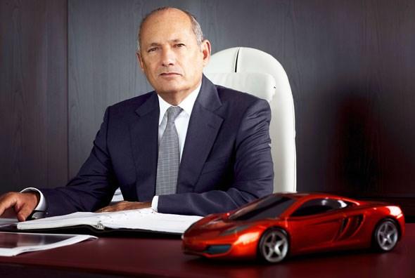 McLaren Automotive boss, then and now: Ron Dennis