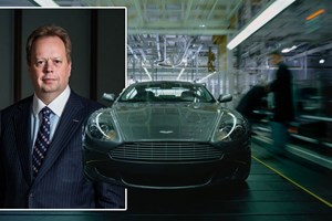 Andy Palmer, the new CEO of Aston Martin