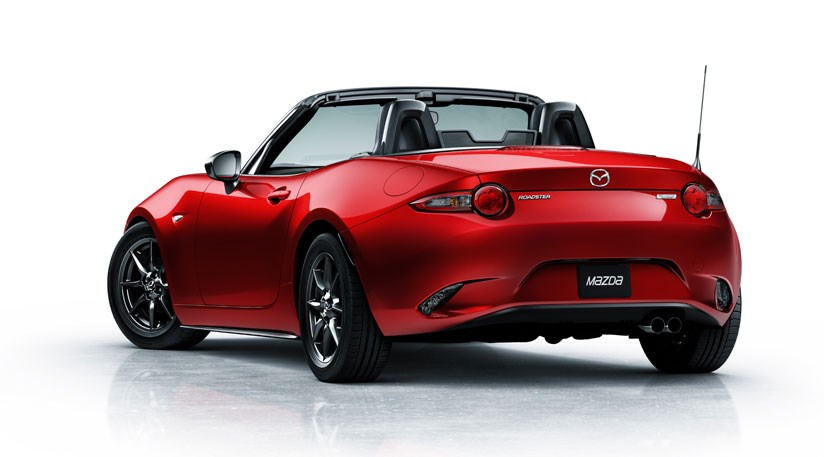 Mazda Mx 5 2015 First Pictures Of New Mx 5 Mk4 By Car