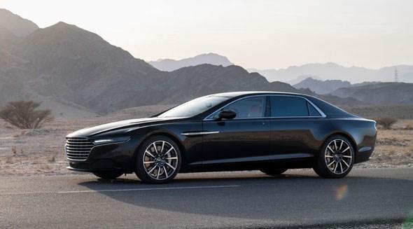 Aston Martin's new 2015 Lagonda super saloon, finally unveiled