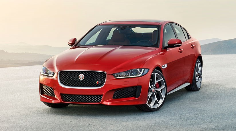 new release jaguar carJaguar XE unveiled news pictures spec of 2015 baby Jag by CAR