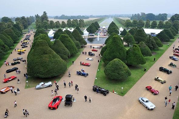 The 2014 Hampton Court Concourse of Elegance car show