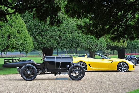 1912 Bugatti 5 Litre Chain Drive