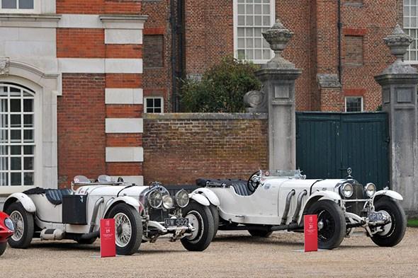 1929 Mercedes-Benz 710 SS Grand Prix UW302 R and 1930 Mercedes-Benz 710 SS Rennsport GP10