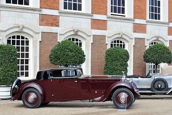 1933 Rolls Royce Phantom II Continental Freestone & Webb Coupe