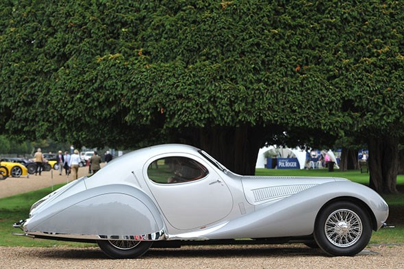 1938 Talbot Largo T150C SS Figoni Falaschi Coupe