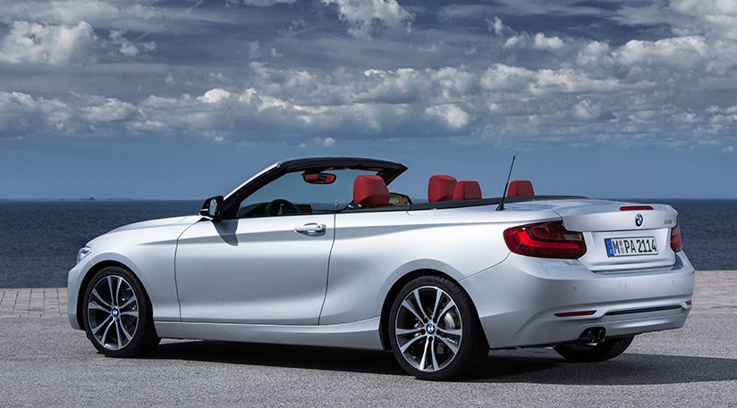Soft Top Folds Away Under Bmw 2 Series Lid