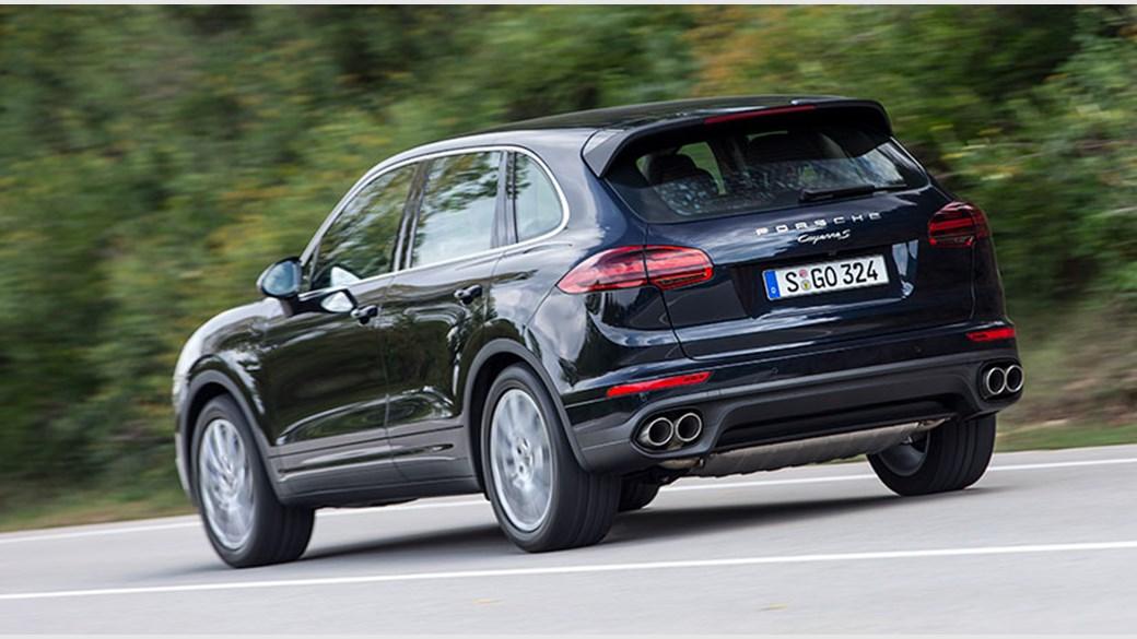Porsche Cayenne Diesel S facelift (2014) review by CAR Magazine