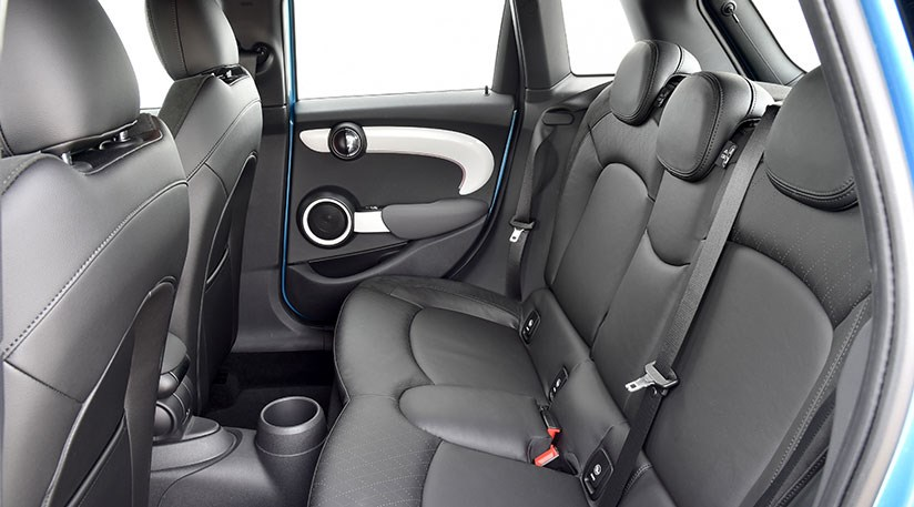... Rear seats surprisingly roomy in new Mini five-door. Just watch out for that enormous transmission tunnel ... & Mini five-door hatchback (2014) review \u2013 we test Mini 5dr by CAR ...