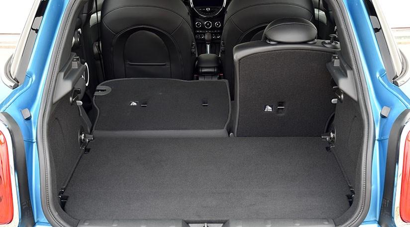 ... Boot of five-door Mini hatchback usefully sports an extra 67 litres over three-door Mini ... & Mini five-door hatchback (2014) review \u2013 we test Mini 5dr by CAR ...