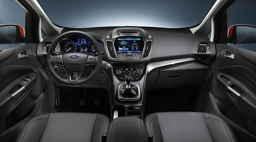 Inside Cabin Of New 2017 Ford C Max Much Tir