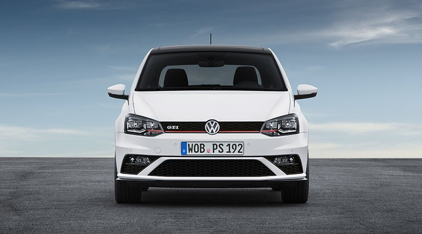 7f44f37b ... Think the Polo GTI's gone a bit Golf? Wait until you see inside...  Expect prices for new 2015 VW ...