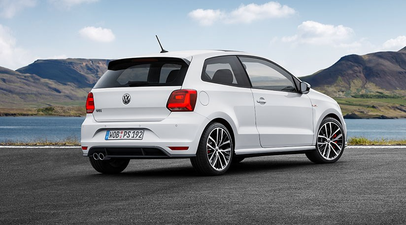 vw polo gti unveiled for 2015 a baby golf gti by car magazine. Black Bedroom Furniture Sets. Home Design Ideas