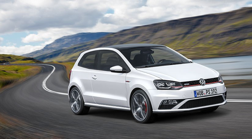 Vw Polo Gti Unveiled For 2015 A Baby Golf Gti By Car
