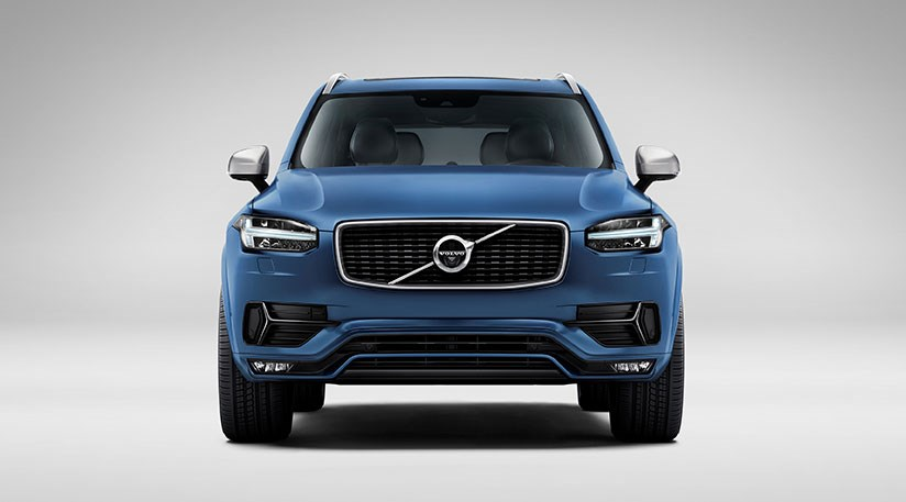 volvo xc90 r design 2015 first pictures by car magazine. Black Bedroom Furniture Sets. Home Design Ideas