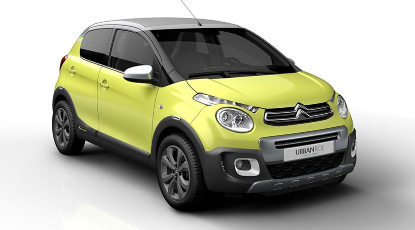 citroen c1 urban ride concept car 2014 revealed by car magazine. Black Bedroom Furniture Sets. Home Design Ideas