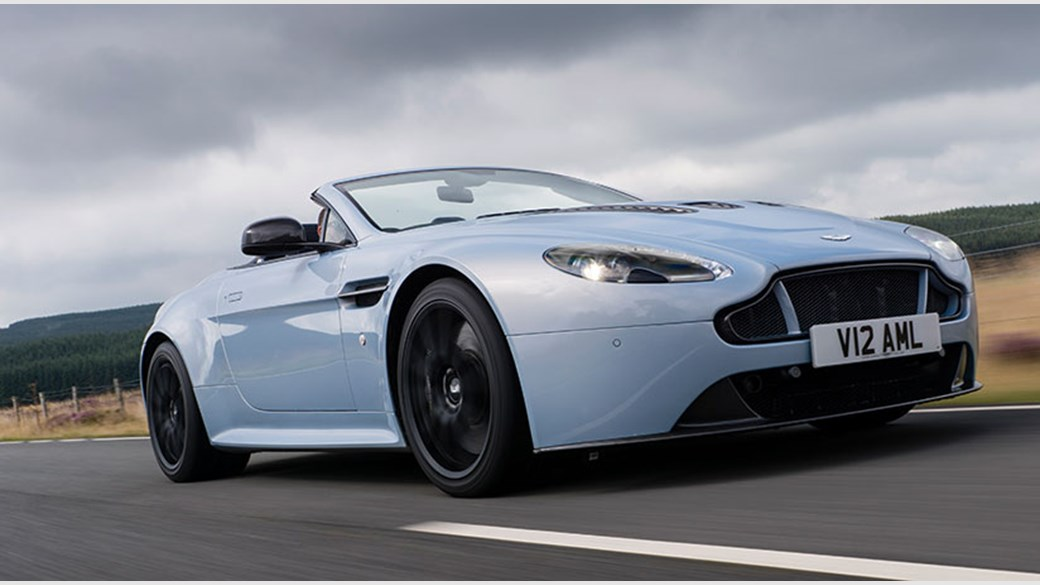 Aston Martin V Vantage S Roadster Review CAR Magazine - Aston martin vantage v12