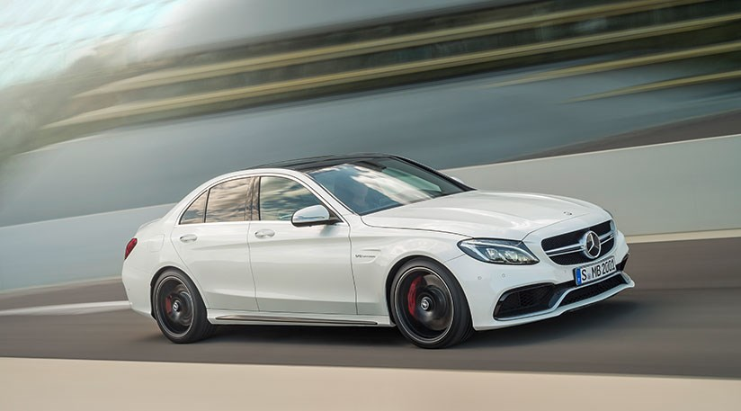 mercedes amg c63 2014 503bhp hot rod unveiled by car magazine. Black Bedroom Furniture Sets. Home Design Ideas