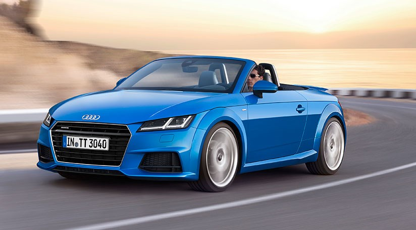 audi tt roadster unveiled 2015 it s the convertible tt. Black Bedroom Furniture Sets. Home Design Ideas