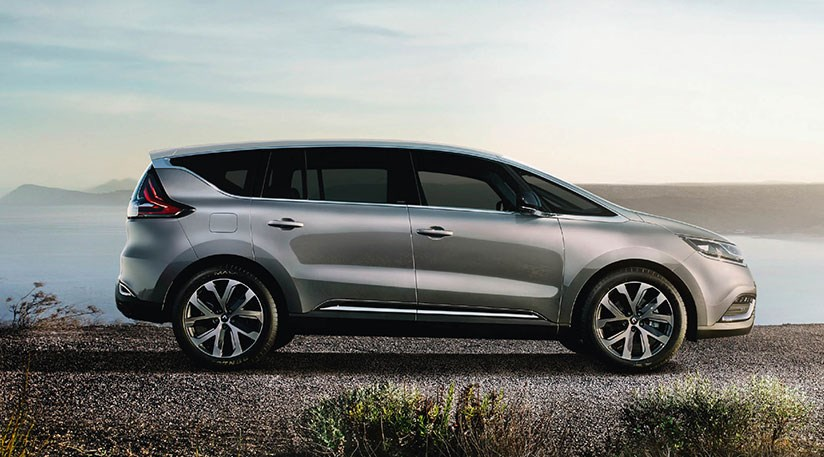 Renault Espace revealed - and for 2015 it's a crossover by CAR