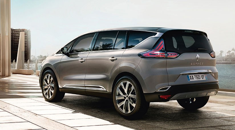 renault espace revealed and for 2015 it 39 s a crossover by car magazine. Black Bedroom Furniture Sets. Home Design Ideas