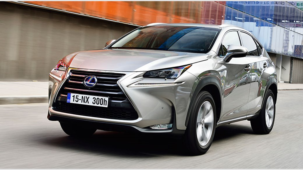 New 2017 Lexus Nx 300h Hybrid Driven In The Uk